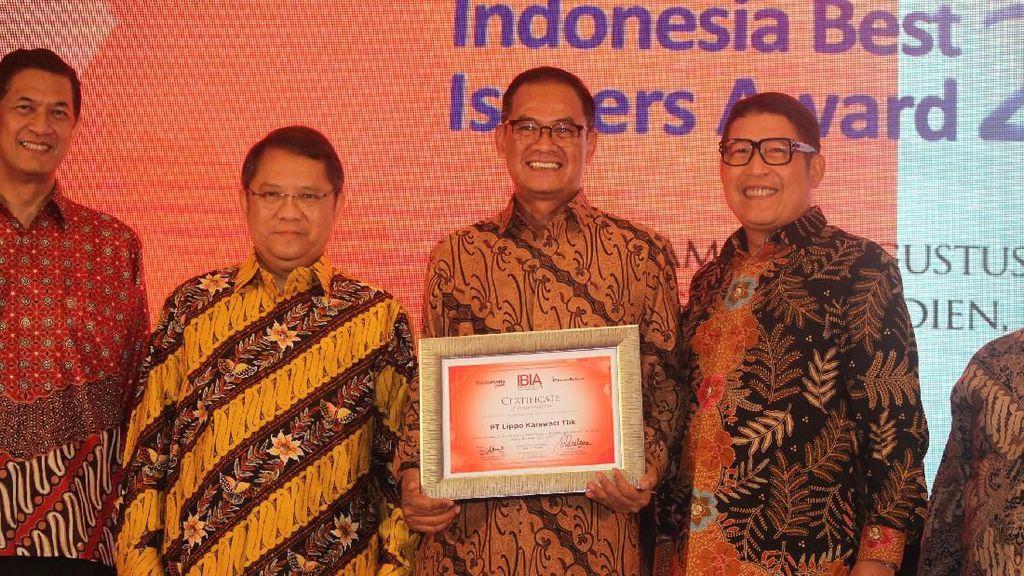 Lippo Karawaci Dapat Best Issuer Award 2019