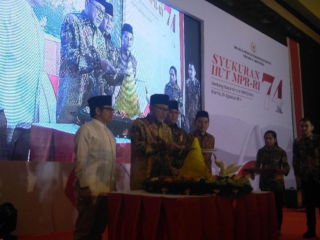 Di HUT MPR Ke-74, Zulkifli Hasan Doakan Jimly Asshiddiqie Jadi Ketua DPD