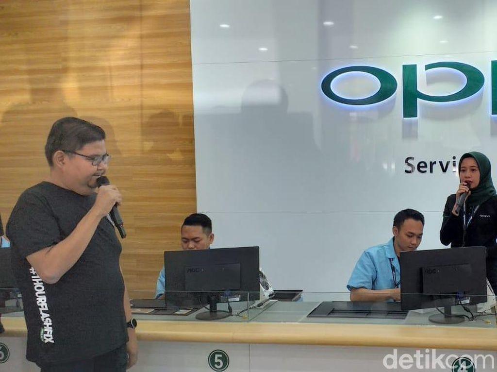 Tiga Layanan Purna Jual Terbaru Oppo Rambah Surabaya