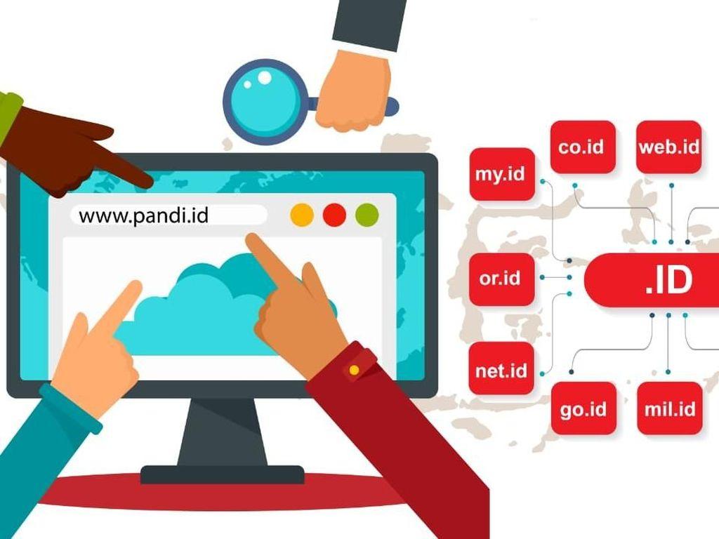 Domain Lokal my.id Digandrungi Milenial