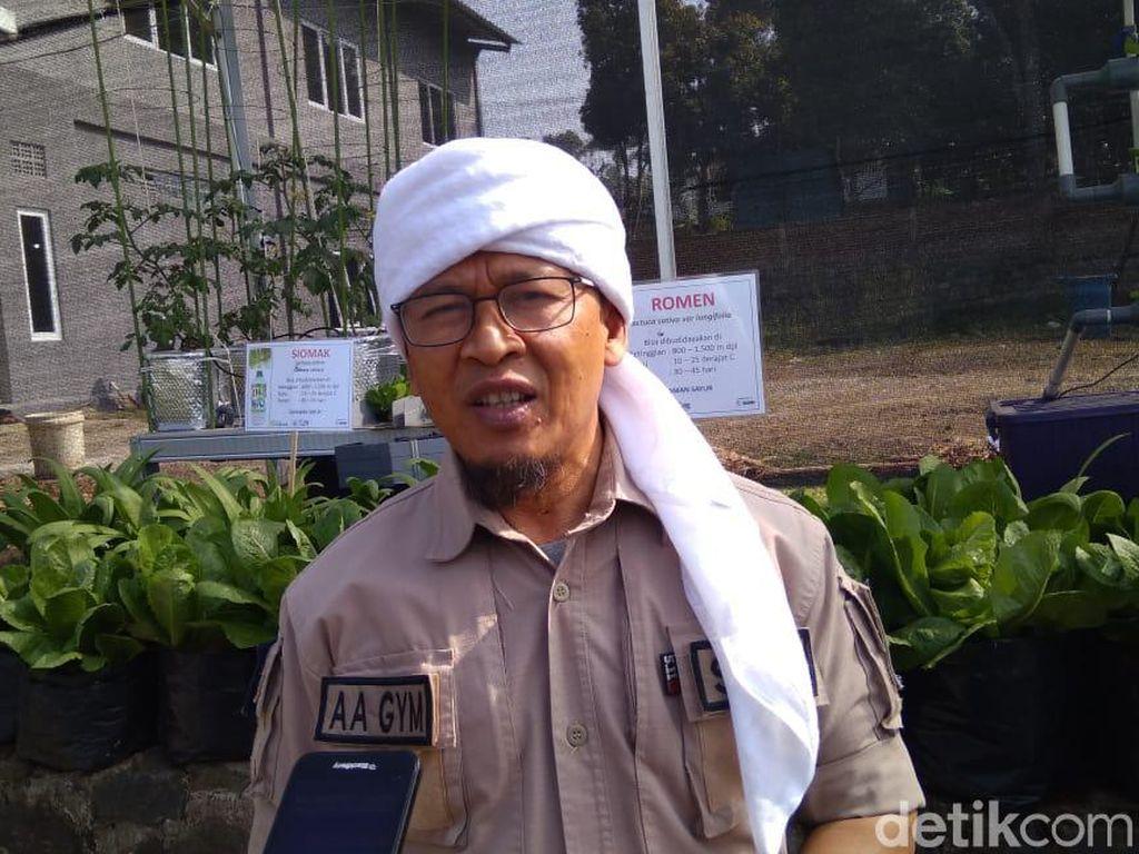 Aa Gym Ingatkan Pesan Imam Syafii untuk Pemuda Indonesia