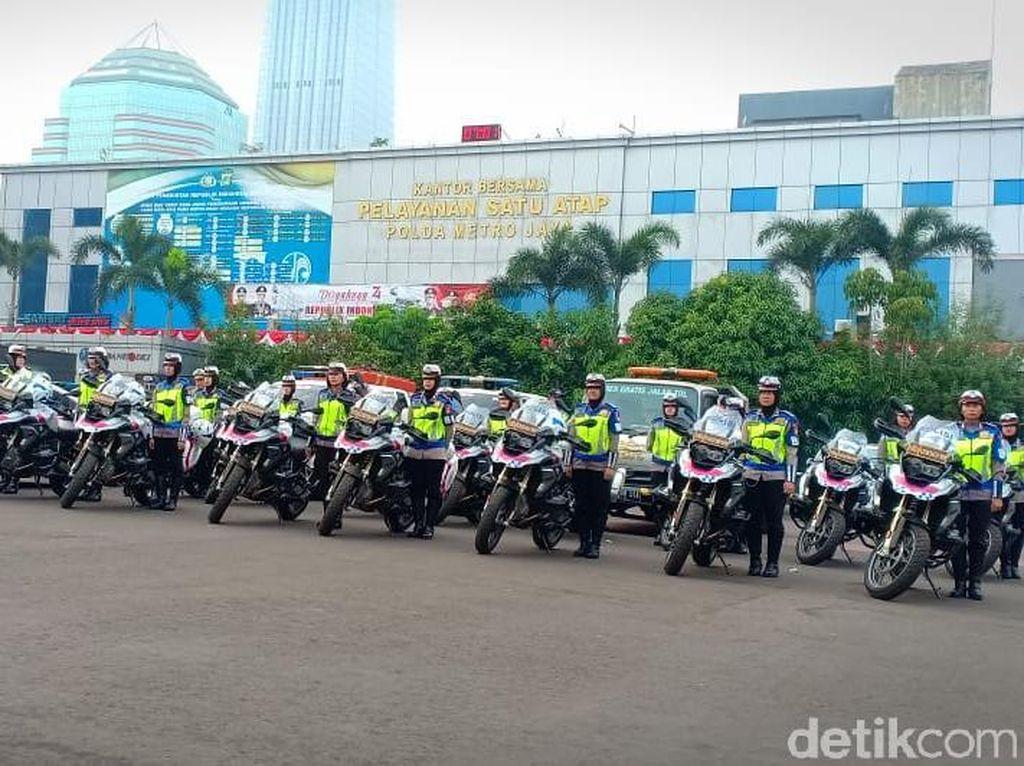 Operasi Patuh Jaya, Polda Sasar Driver Main Ponsel hingga Lawan Arus