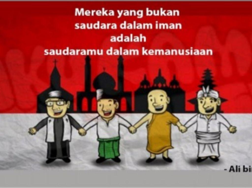 Dahulukan Kemanusiaan di Atas Keberagamaan