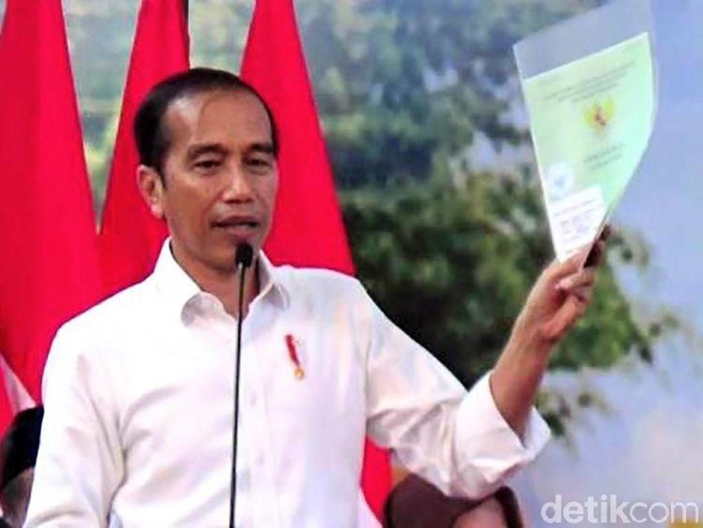 Instruksi Jokowi ke Gubernur Kalbar: Asap Jangan Ganggu Penerbangan!