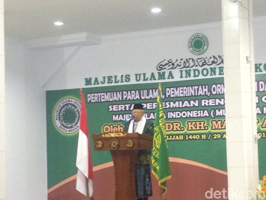 Maruf Amin Soal Pasal Penghinaan Presiden: Serahkan ke DPR