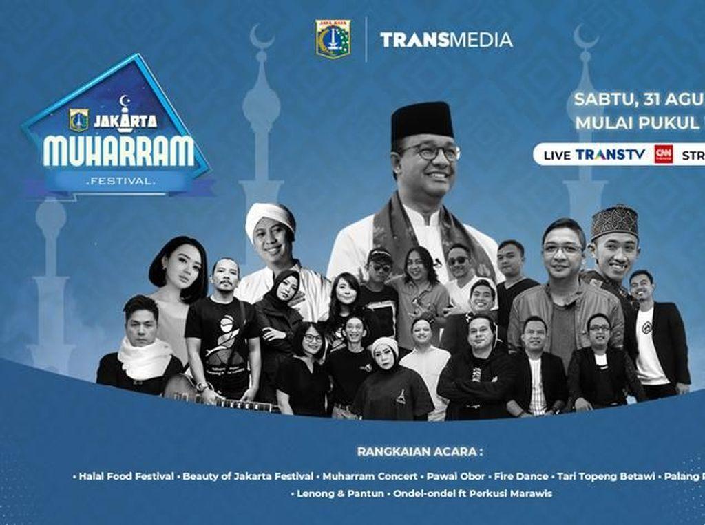 Malam Minggu Besok, ke Jakarta Muharram Festival 2019 Yuk!