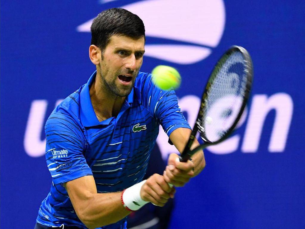 Djokovic ke Babak 32 Besar AS Terbuka meski Diganggu Masalah Bahu