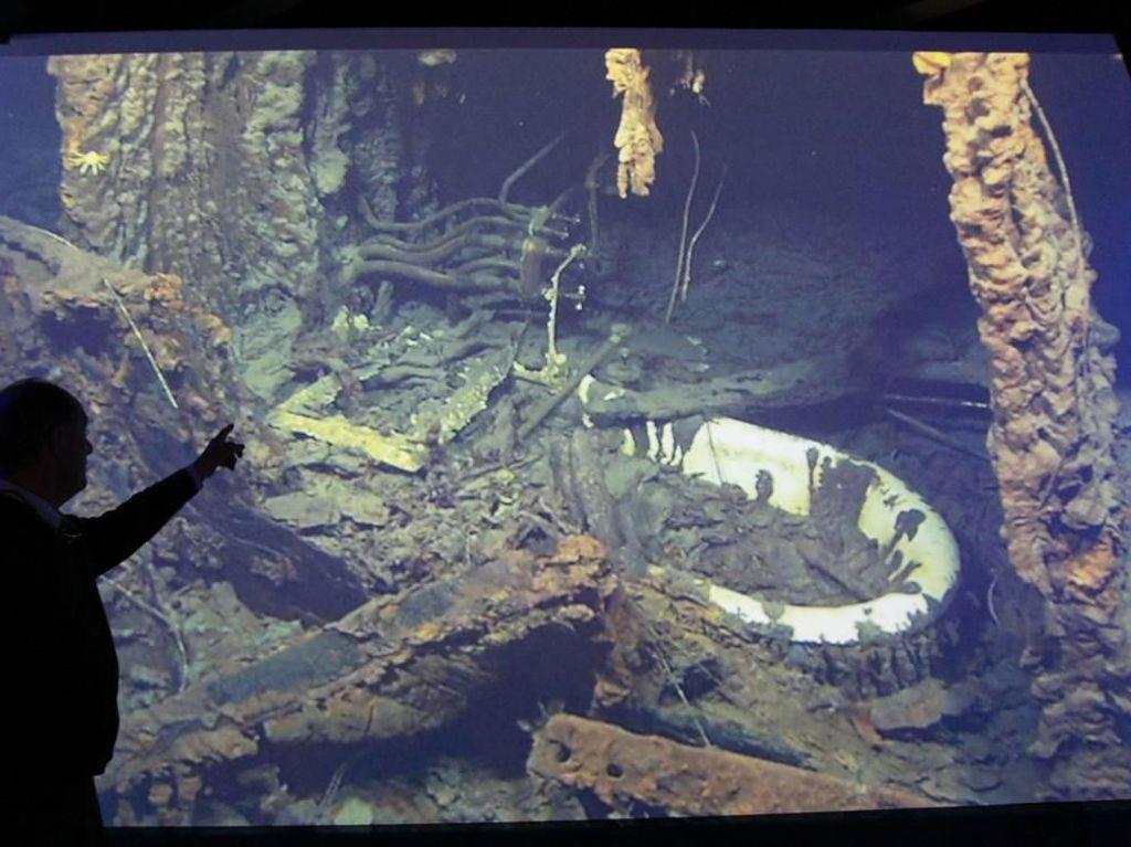 Mewahnya Ruang Makan di Kapal Titanic Sebelum Tenggelam 100 Tahun Lalu