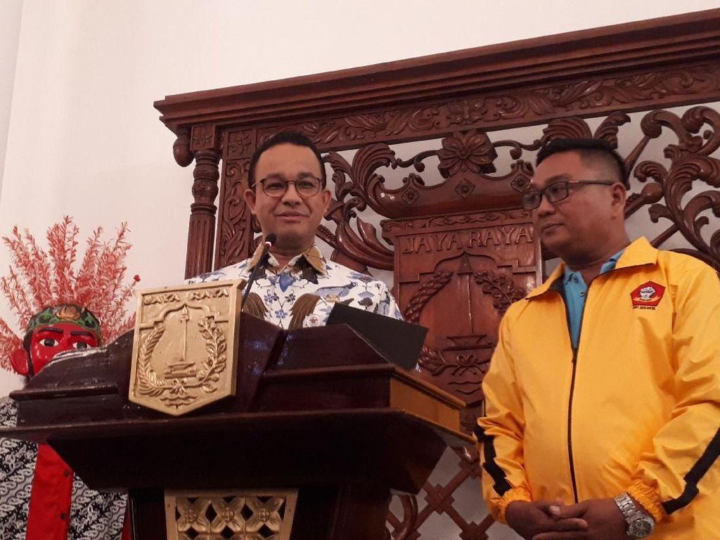 Ganti Dirut PD Dharma Jaya, Anies Ingin Target Tercapai Lebih Cepat