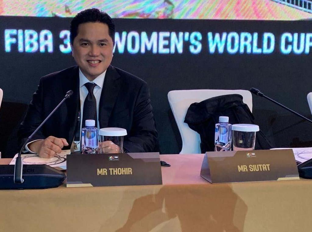 Erick Thohir Jadi Anggota Central Board Federasi Bola Basket Internasional