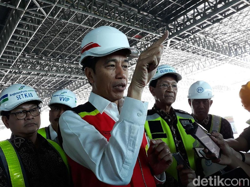 Kagumnya Jokowi Lihat Bandara Kulon Progo
