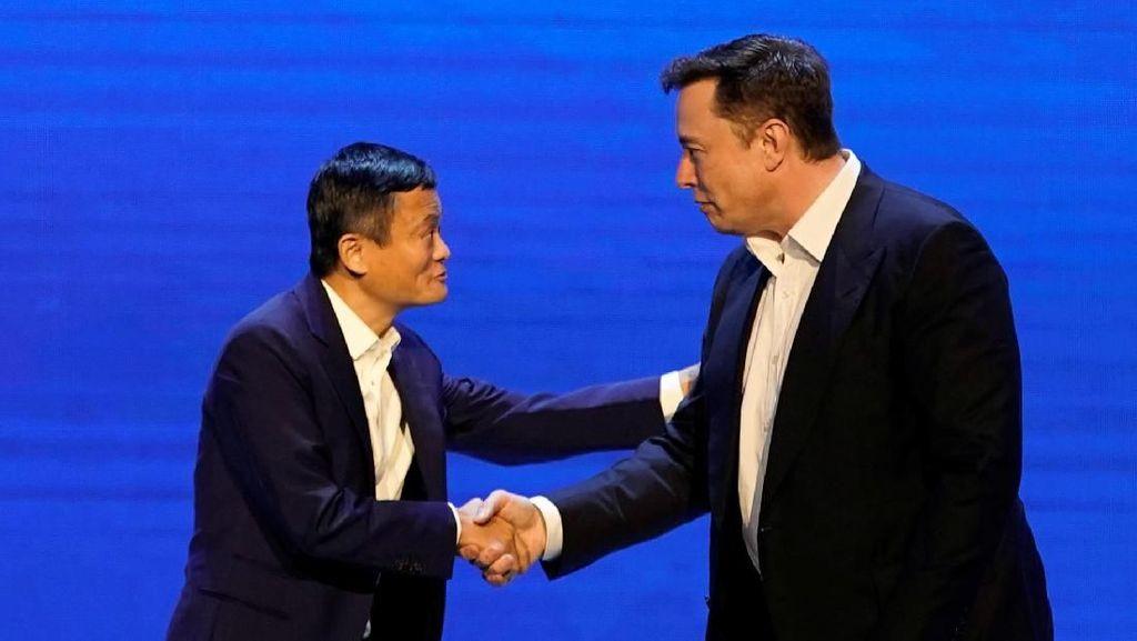Pertemuan Dua Genius, Jack Ma dengan Elon Musk
