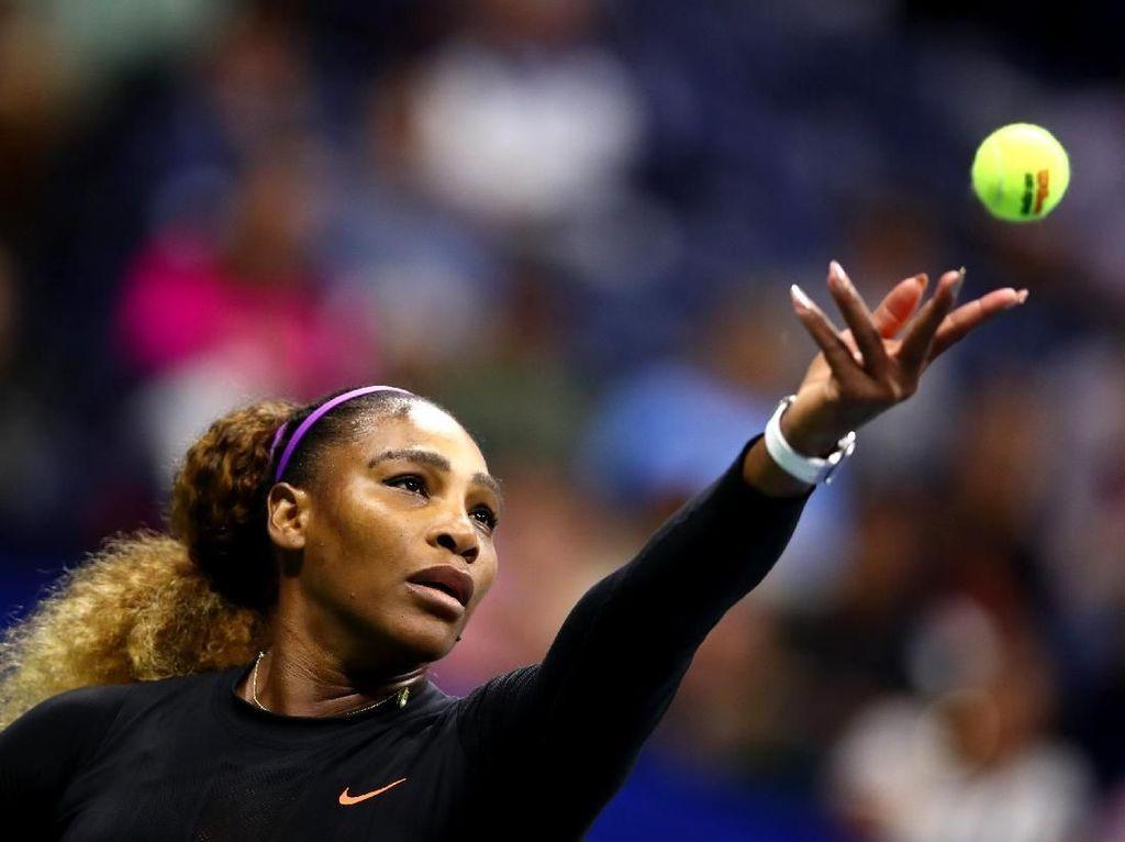Serena Dipaksa Main Tiga Set di Babak Kedua AS Terbuka