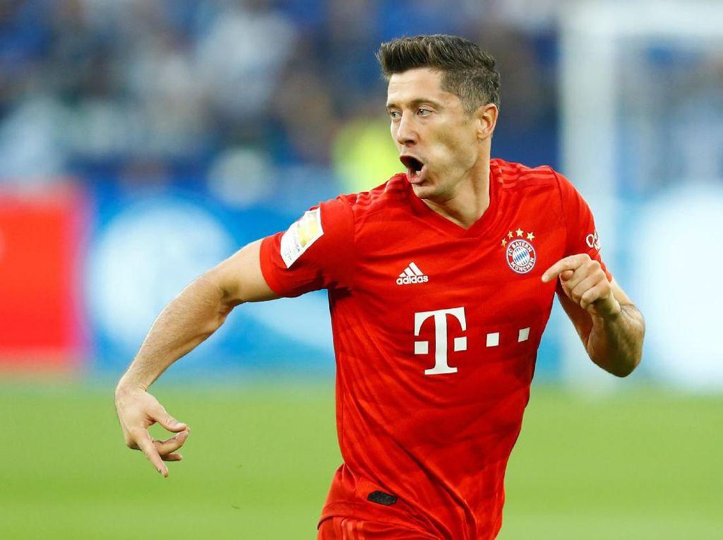 Sempat Ngritik, Lewandowski Kini Puas dengan Aktivitas Belanja Bayern
