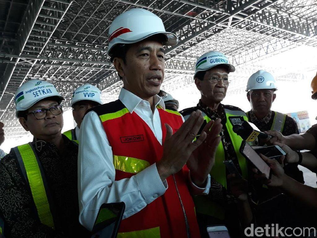 Jokowi Wanti-wanti Bandara Kulon Progo Bisa Tarik Turis Asing