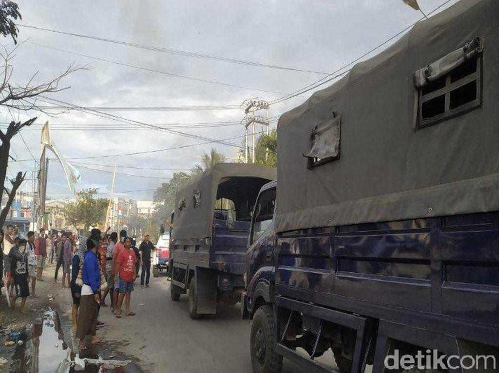 Warga yang Mengungsi di Pangkalan TNI AL Jayapura Mulai Kembali ke Rumah