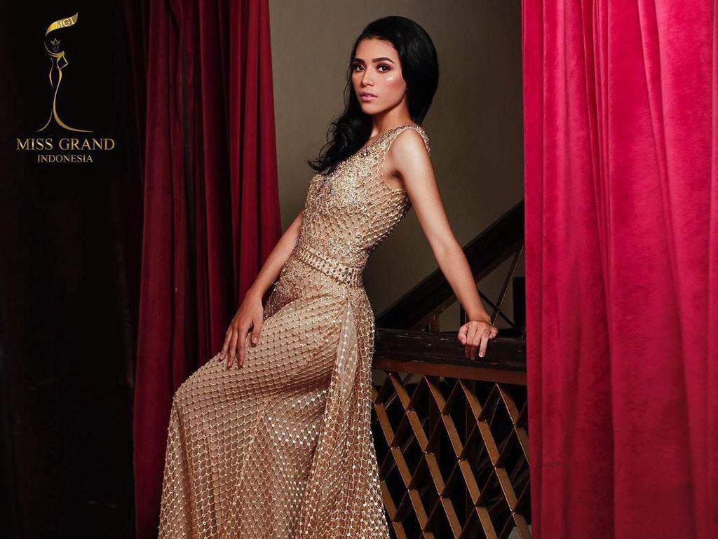 Potret Cantiknya Sarlin Jones, Juara Miss Grand Indonesia 2019 asal NTT