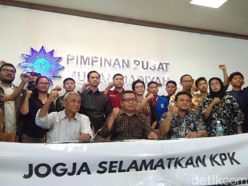 Seleksi Capim KPK Bermasalah, Busyro Cs Desak Jokowi Turun Tangan