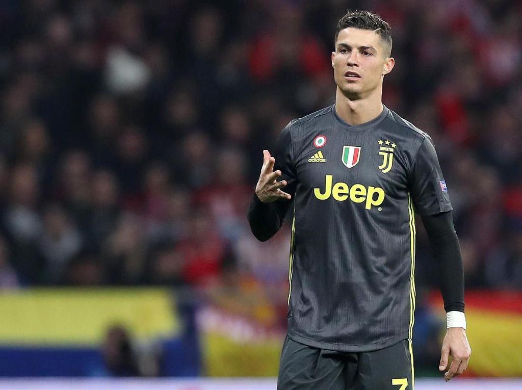 Ronaldo Berharap Tak Lagi Dicemooh di Kandang Atletico
