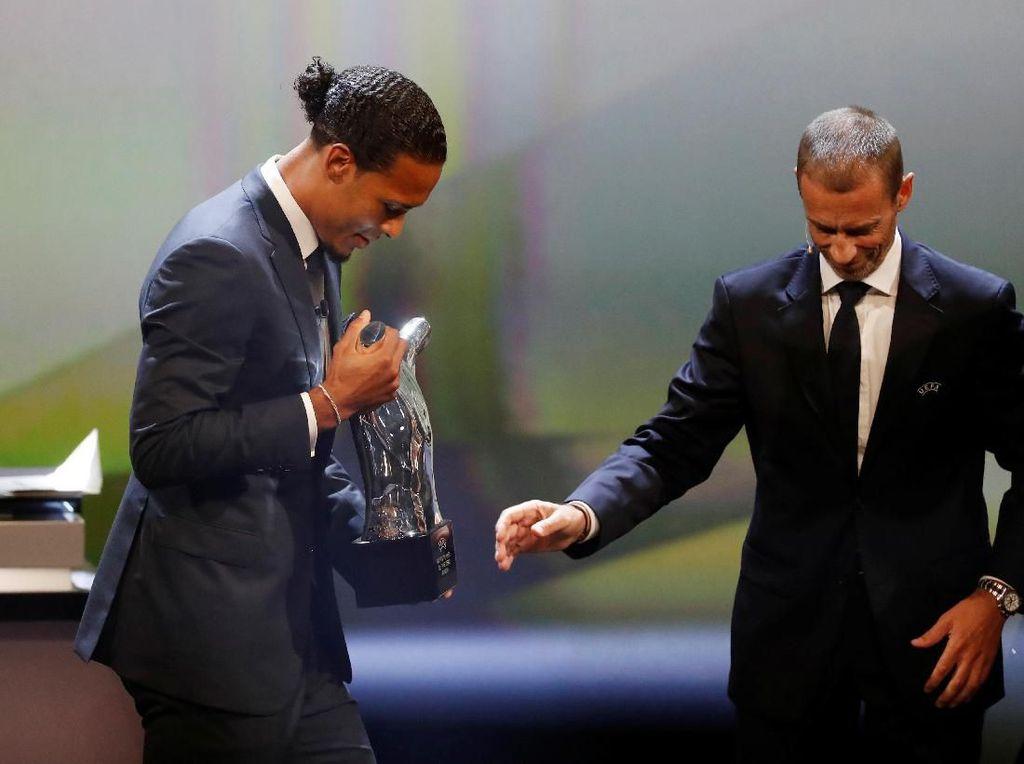 Gelar Pemain Terbaik Eropa, dari Van Dijk untuk Skuat Liverpool