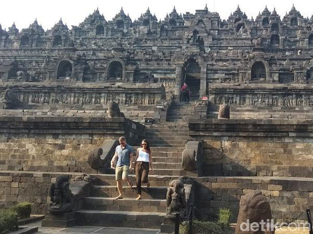 Penutupan Candi Borobudur, Prambanan dan Ratu Boko Diperpanjang