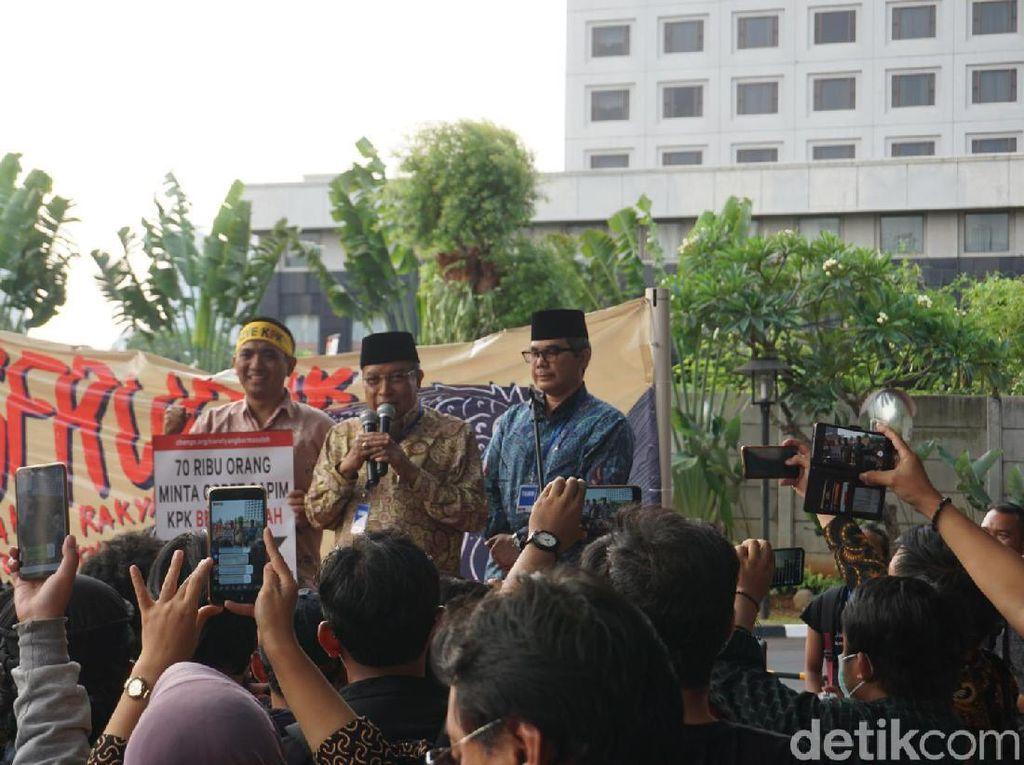 Dukung KPK, Said Aqil Minta Jokowi Tak Salah Pilih Capim