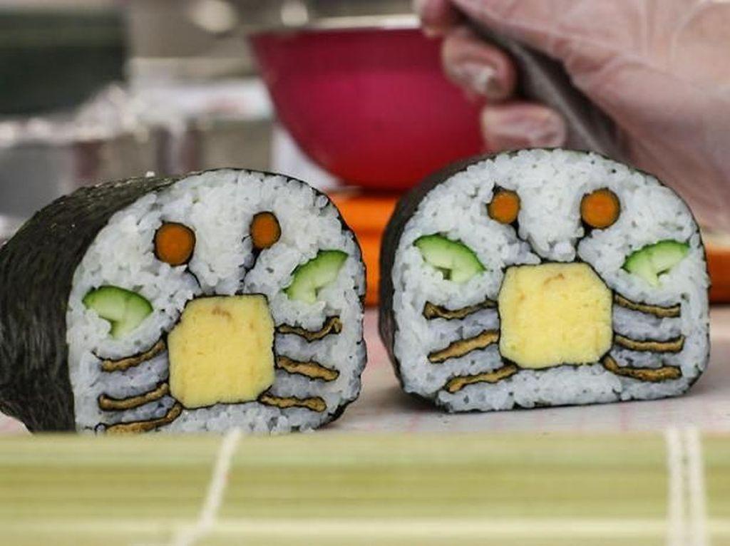 Yuk, Intip 10 Kreasi Sushi yang Super Gemesin Ini!