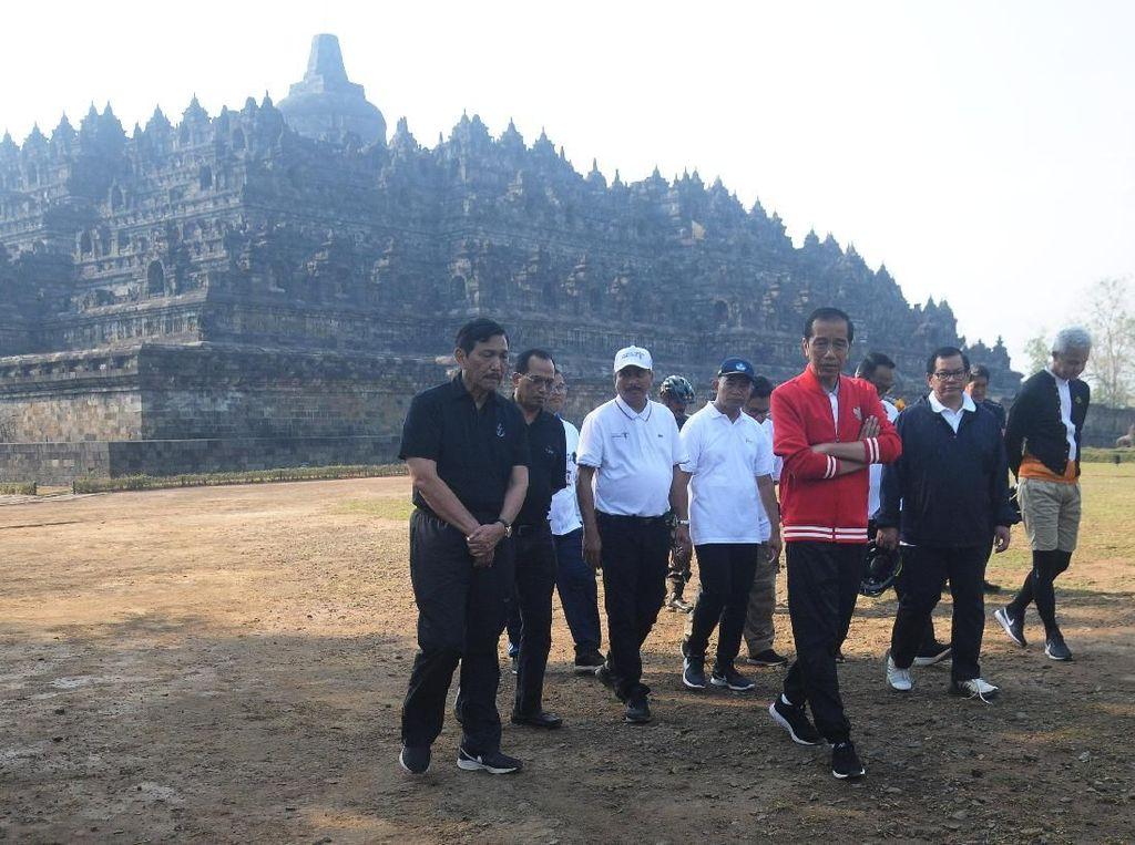 Demi Goda Wisatawan, Jokowi akan Percantik Candi Borobudur