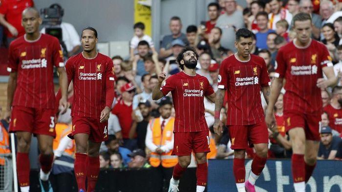 Liverpool bertekad tampil 100 persen saat menghadapi Manchester City di Anfield, Minggu (10/9). (Foto: AP Photo/Rui Vieira)