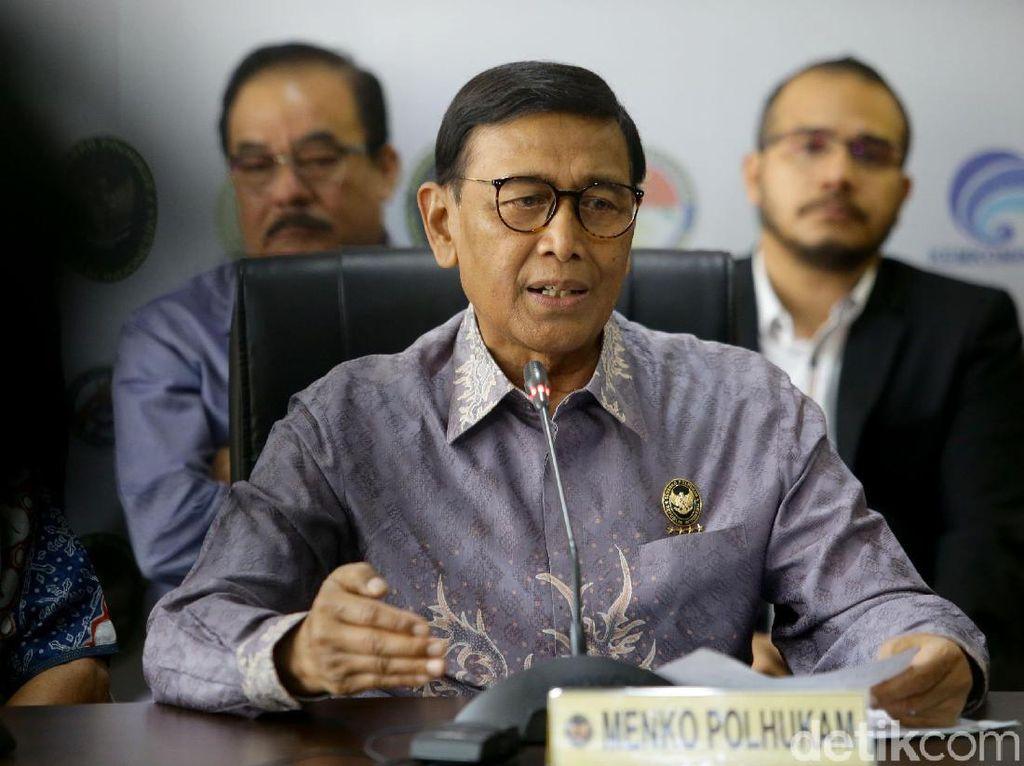 Keluar dari RSPAD, Wiranto Langsung ke Kantor untuk Acara Purnatugas