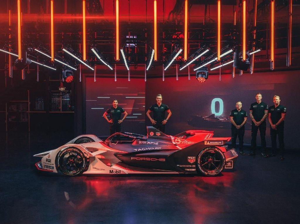 Jagoan Porsche di Balapan Mobil Listrik Formula E