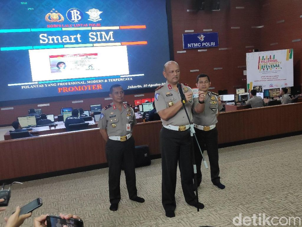 Kakorlantas: Jika Pelanggaran Lalin Berat, Smart SIM Bisa Dicabut