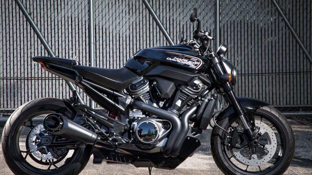 Motor Petarung Jalanan Harley-Davidson
