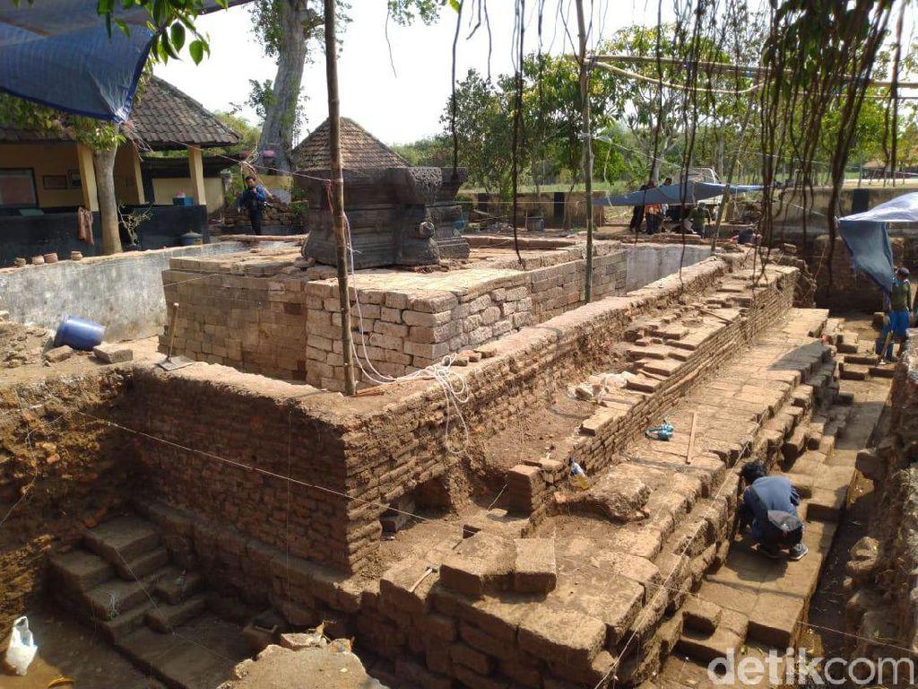 Ini Penampakan Situs Tribhuwana Tunggadewi Setelah Diekskavasi