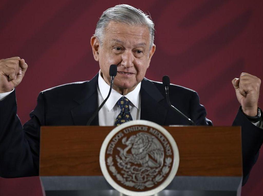 Presiden Meksiko Temukan Kamera Mata-mata di Dalam Kantornya