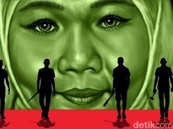 Terlilit Utang, Nyawa Suami dan Anak Melayang