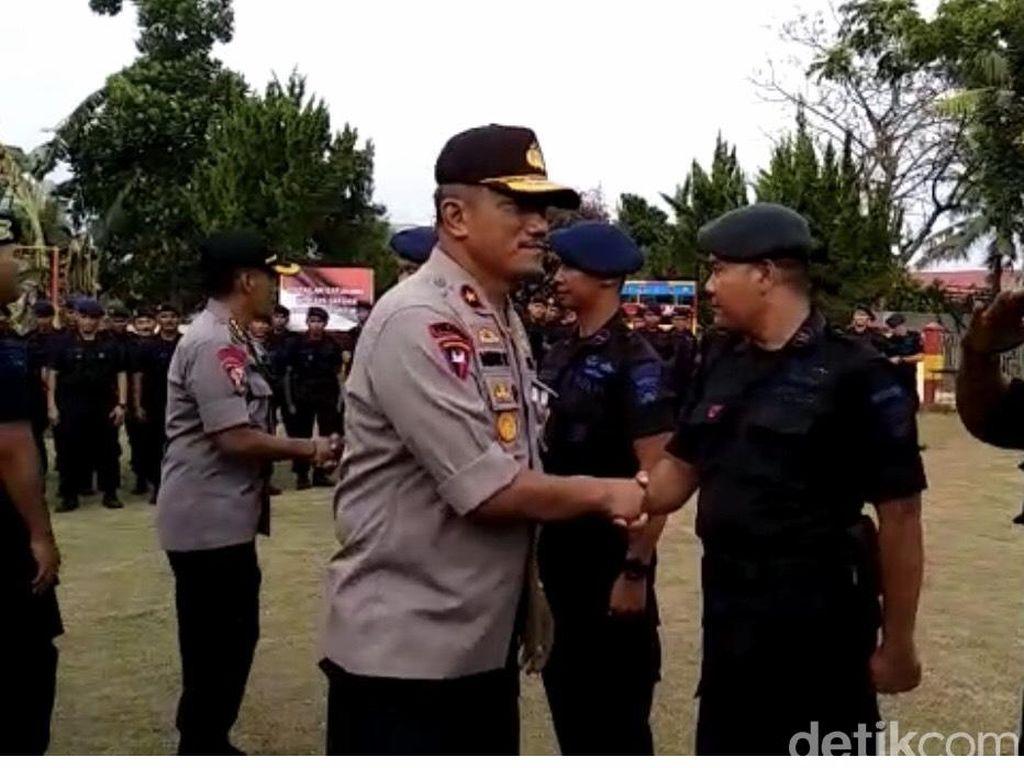Polda Sumbar Berangkatkan 250 Brimob Bantu Pengamanan Papua