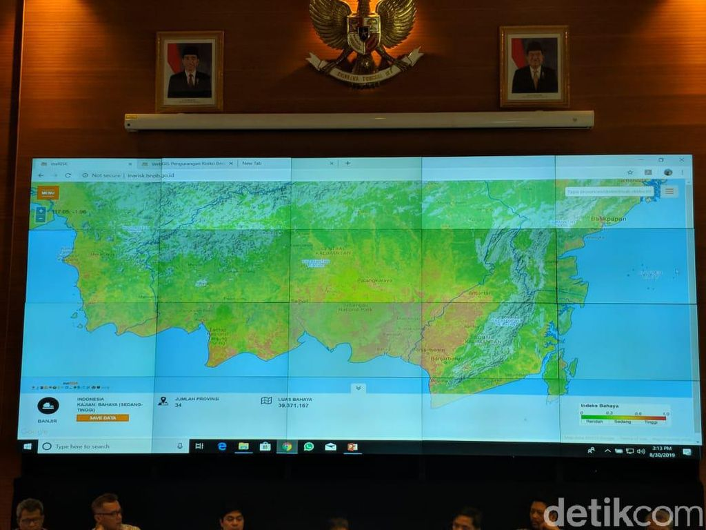BNPB Bicara Perlunya Mitigasi Bencana di Lokasi Ibu Kota Baru