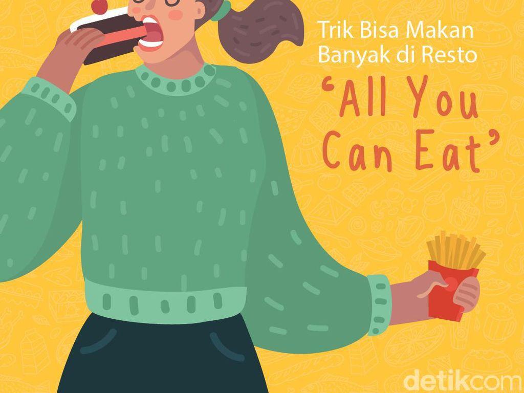 Trik Bisa Makan Banyak di Resto All You Can Eat