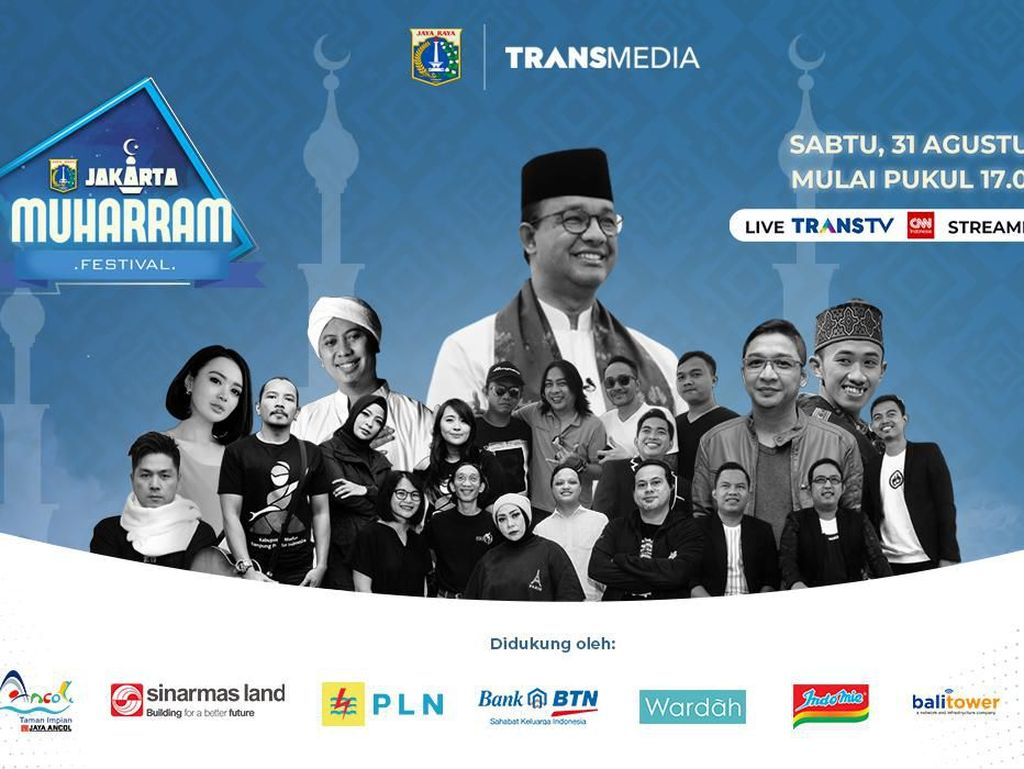 Perdana! Pemprov DKI Gelar Jakarta Muharram Festival