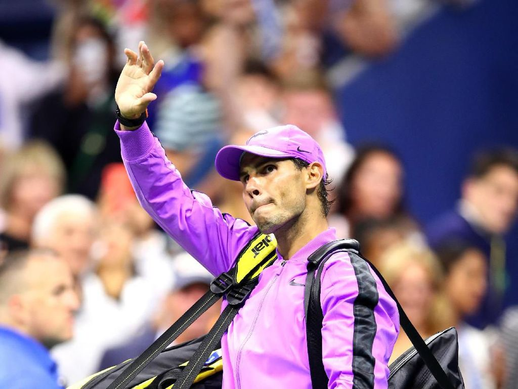 Lawan Mundur, Rafael Nadal ke Babak Ketiga Tanpa Tanding