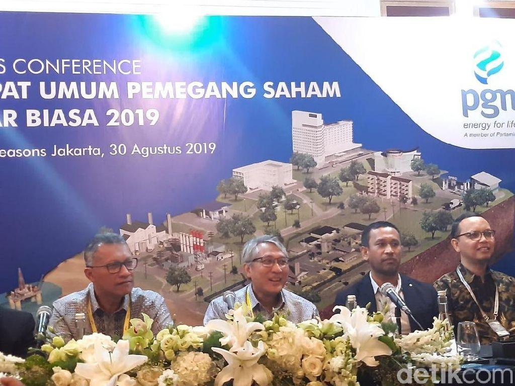 Formasi Terbaru Direksi dan Komisaris PGN