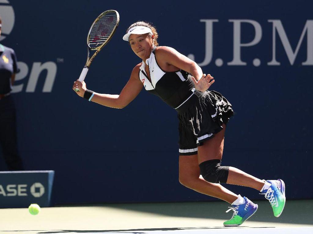 Naomi Osaka ke Babak Ketiga AS Terbuka, Kvitova Tersingkir