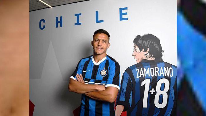 Alexis Sanchez telah berkostum Inter Milan. (Foto: istimewa)