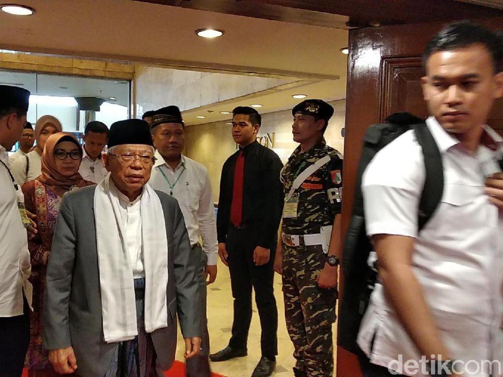 Singgung Perolehan Suara di Jabar, Maruf Amin: Tidak Kalah, Cuma Belum Menang