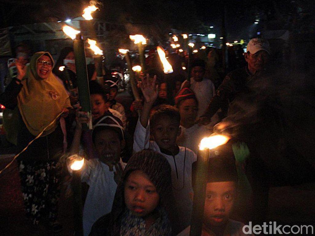 Warga di Cimahi dan Cianjur Dilarang Pawai Obor Tahun Baru Islam