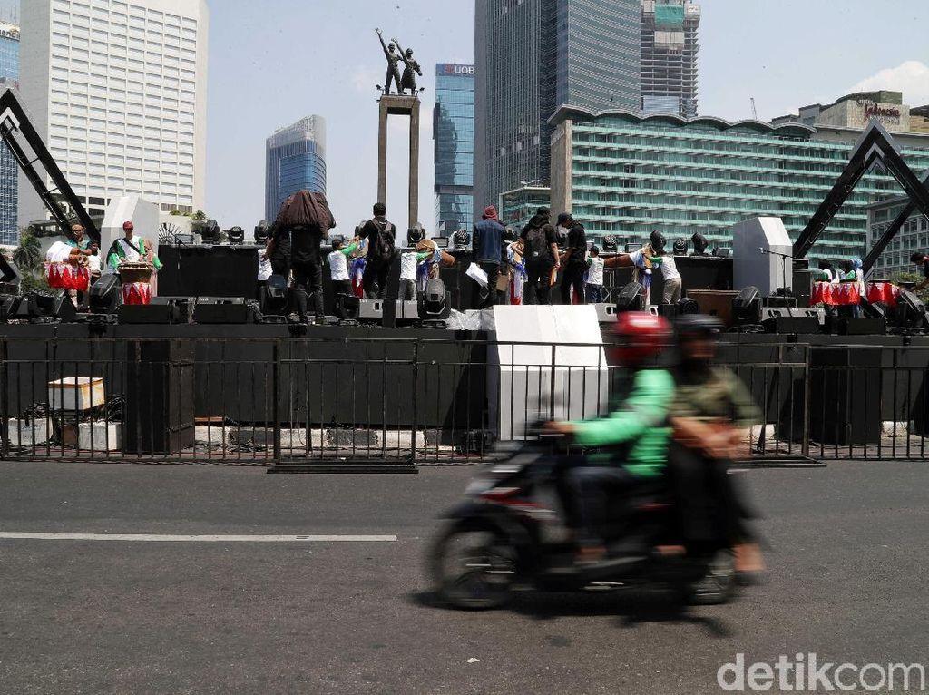 Mengintip Persiapan Jakarta Muharram Festival di Bundaran HI