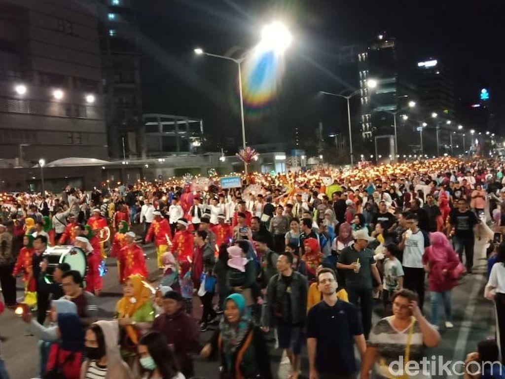 Semarak Jakarta Muharram Festival, Warga Penuhi Area Bundaran HI