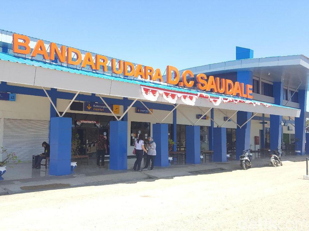 Foto: Ini Bandara Paling Selatan di Indonesia