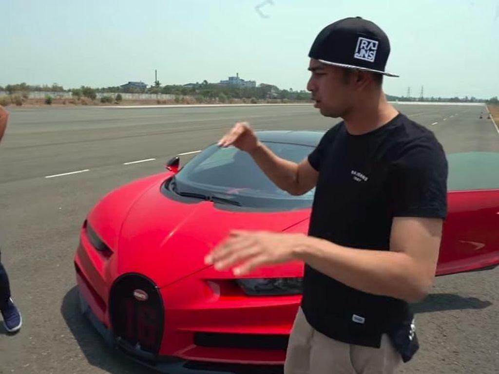 Sultan! Raffi Ahmad Kendarai Mobil Tercepat Dunia